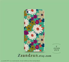 Floral Paint iPhone Case Cover, iPhone 5s Case, iPhone Case 5c, iPhone Case 5 Case, iPhone 4S Case, iPhone 4 Case, Samsung Galaxy S3 on Etsy, $16.99