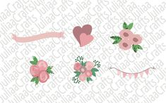 Floral svg - Floral decorations svg - Floral wreath svg - Wedding decorations - Hand drawn flowers - svg cut files - for cricut - Floral Decorations, Wedding Decorations, Flower Svg, Hand Drawn Flowers, Svg Cuts, All Design, How To Draw Hands, Floral Wreath, Handmade Items