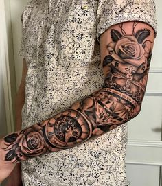 Our Website is the greatest collection of tattoos designs and artists. Find Inspirations for your next Sleeve Tattoo Ideas. Arm Sleeve Tattoos, Full Sleeve Tattoos, Tattoo Sleeve Designs, Tattoo Designs Men, Men Tattoo Sleeves, Men Arm Tattoos, Arm Tattos, Forearm Sleeve, Forarm Tattoos