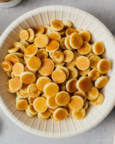 Pancakes but make it mini! Tips and tricks on how to make the best pancake cereal. Mini Pancakes, Tasty Pancakes, Waffles, My Recipes, Snack Recipes, Dessert Recipes, Snacks, Desserts, Mini Breakfast Food