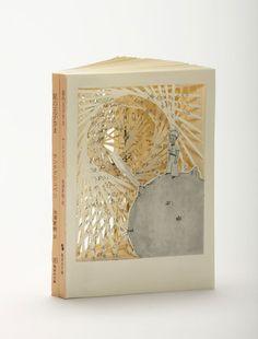 il piccolo principe tomoko-takeda  libri intagliati artista behance giapponese dissacrante lettura libro sonecka soneckablog valentina palermo blog book carving