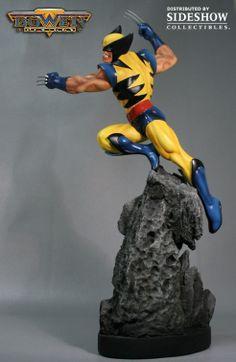 Polystone Statue - Wolverine Classic Action Statue (Bowen Designs) #2411
