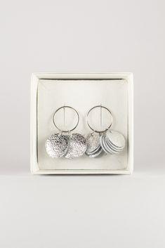 Handmade reindeer leather stud earrings by Oikku Design Reindeer, Stud Earrings, Leather, Handmade, Jewelry, Design, Hand Made, Jewlery, Jewerly