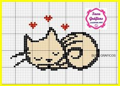 Loom Patterns, Beading Patterns, Tiny Cross Stitch, Especie Animal, Beads Pictures, Knitting Charts, Loom Beading, Paper Art, Cute Animals