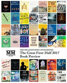 We hope the following list of 85 upcoming books peps you up for the (first half of the) new year.