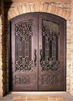Wrought iron door from Cantera Doors