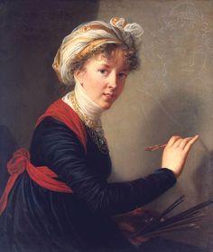 Elisabeth Vigee LeBrun self portrait