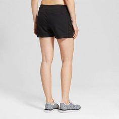 Women's Tennis Shorts - C9 Champion - Black 8, Size: 6