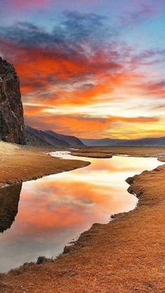 Gobi Desert Mongolia // Premium Canvas Prints & Posters // www.palaceprints.com                                                                                                                                                                                 More