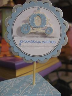 Items similar to CINDERELLA carriage Cupcake Toppers - Party Favor decor - Princess party - year - tea party on Etsy Cinderella Decorations, Cinderella Cupcakes, Cinderella Birthday, Cinderella Theme, Princess Birthday, Princess Party Favors, Disney Princess Party, Princess Theme, Royal Princess