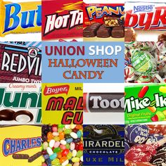 Is your favorite candy union-made? Find out before you go shopping for the kids in your neighborhood!