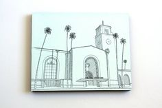 Los Angeles-California decor-Architectural by Cityscapesandthings
