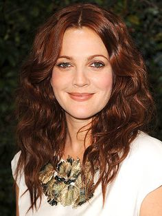 LOVE Drew Barrymore's hair - I've been told I 'sound' like her!  Interesting huh!