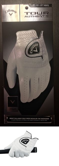 Golf Gloves 181135: Callaway Tour Authentic Mens Golf Gloves (6 Gloves) New White Left Hand Cadet M -> BUY IT NOW ONLY: $69.99 on eBay!