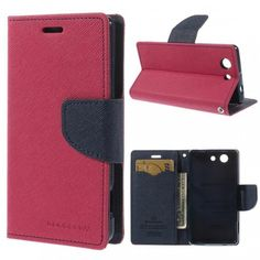 Sony Xperia Z3 Compact Pinkki Fancy Suojakotelo  http://puhelimenkuoret.fi/tuote/sony-xperia-z3-compact-pinkki-fancy-suojakotelo/