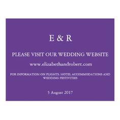 Ultra Violet - Spring 2018 London Fashion Trends Postcard - wedding cyo special idea weddings