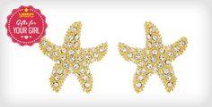 Starfish Earrings from Swell Caroline