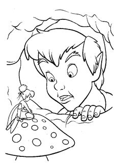 coloriage peter pan COLORING PAGES FOR CHILDREN Pinterest