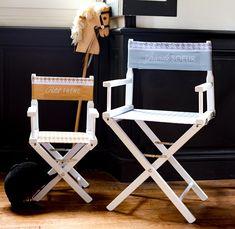 Les 28 Meilleures Images Du Tableau Chaise Metteur En Scne Enfant