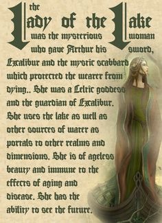 Lady of The Lake [Charmed] Charmed Spells, Charmed Book Of Shadows, Charmed Tv Show, Legends And Myths, Witch Spell, Celtic Mythology, Wicca Witchcraft, Medieval Fantasy, Mythical Creatures