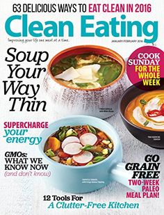 Clean Eating - Save on magazine subscription! #MagazineSubscription #CleanEating