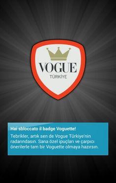 Vouguette badge