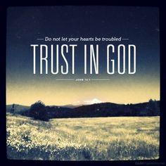 Trust in God #faith
