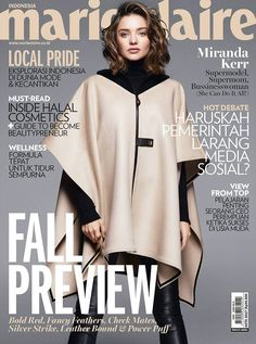 Miranda Kerr by Greg Kadel for Marie Claire Indonesia August 2017 Cover Fashion Magazine Cover, Fashion Cover, Magazine Covers, Beauty Editorial, Editorial Fashion, Tapas, Greg Kadel, Miranda Kerr Style, Fashion Advertising