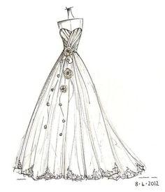mermaid wedding dress www.annech.co.uk