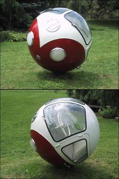 VW Busball from Billy Gibbons - But how do you move this bus forward ?