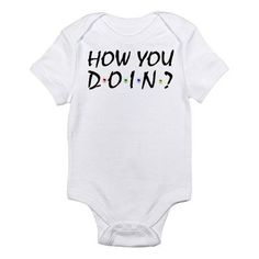 Friends TV Show Infant Bodysuit. For Megan's baby fever! My Bebe, Friends Tv Show, Baby Boy Outfits, Boy Baby Clothes, Baby Boy Stuff, Kid Outfits, Babies Stuff, Kid Stuff, Baby Time