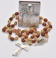 His Holiness Saint Pope Francis I Jorge Mario Bergoglio gifts and souvenirs page. We have a selection of Pope Francis Rosaries, prayer cards, medals and statues. Our Lady Of Lourdes, Rosary Catholic, Rosary Beads, Prayer Cards, Pope Francis, Rosaries, John Paul, Gifts, Christian