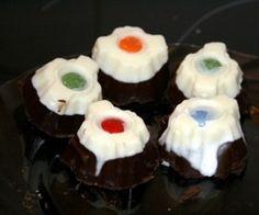 Sandokanovy oči Desserts, Halloween, Tailgate Desserts, Deserts, Postres, Dessert, Plated Desserts, Spooky Halloween