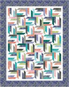 Spangled designed by Cozy Quilt Designs. Features Artisan Batiks: Asian Legacy by Lunn Studios, shipping to stores January 2016. Roll up friendly! #artisanbatiks