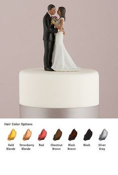 Wedding Cakes Toppers: Cheeky Couple My Main Squeeze Wedding Cake Topper Medium Skin Tone BUY IT NOW ONLY: $34.99