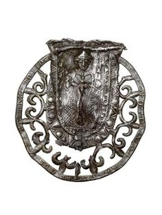 Ampulla from the shrine of St Thomas Becket at Canterbury Cathedral.