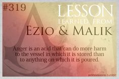 Assassin's Creed Life Lessons — (submitted by serketface) Lessons Learned, Life Lessons, Assassins Creed Quotes, All Assassin's Creed, Assains Creed, Assassin's Creed Black, Game Quotes, Character Quotes, Inspirational Quotes