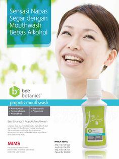 Lengkapi perawatan gigi keluarga Anda dengan mouthwash dari rangkaian seri Bee Botanics HDI #BeeBotanics Pemesanan hub: BBM 2690965B - 085286303619