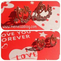 Buon martedì Nuova collezione orecchini love www.memelabblog.com