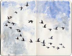 Will Freeborn - moleskine Sketchbook Sketchbook Inspiration, Painting Inspiration, Art Inspo, Sketchbook Ideas, Art Sketches, Art Drawings, Moleskine Sketchbook, Sketchbooks, Art Journals