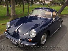 1965 Porsche 356C BALI BLUE - Click to see full-size photo viewer