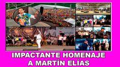 Impactante homenaje a Martín Elías