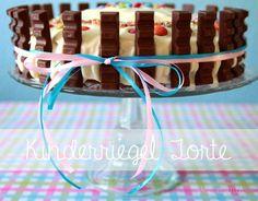 Kinderriegel Torte | Geburtstagskuchen | Geburtstagstorte |Weltbester Marmorkuchen | Torte |Geburtstag | Rezept & Anleitung | Marmorkuchen & Frosting