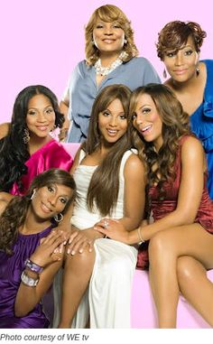 """Braxton Family Values: I never watched this show before but I was too lazy to change the station one day and I ended up watching a gang of episodes and the webisodes online. Now I'm hooked. I'm still not sold on """"Tamar & Vince"""" mainly because Vince's friend gets way too much camera time. I want to see Vince more and the songwriter less. However, this reality show is the only one that I don't think is staged. And these sisters are ALL talented!"""
