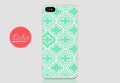 MINT GEOMETRIC Pattern - iPhone 4, iPhone4s, iPhone 5, iPhone 5s Case  #geometric #geometriciphone #geometriciphonecase #pastelcase #pastel #pasteliphonecase #mintiphonecase #mintiphone #gatsby #white #iphone5 #iphone4