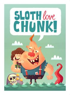 "Matt Kaufenberg ""Sloth Love Chunk"" Framed Print"