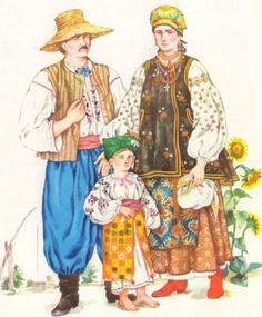 Outfit of Southen Kyiv region(peasants) , Ukraine, from Iryna