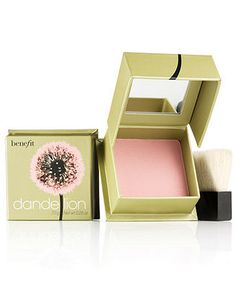 Benefit Dandelion Box O' Powder Blush - Benefit Cosmetics Makeup - Beauty - Macy's