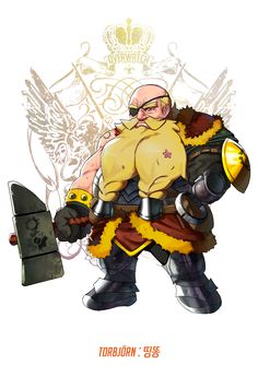 Amplitude, do será refeito para e - Critical Hits Overwatch Torbjorn, Overwatch Costume, Final Fantasy, Fantasy Rpg, Geeks, Character Concept, Character Design, Overwatch Wallpapers, Starcraft 2