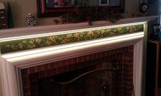 Fireplace mantel   Telemark style